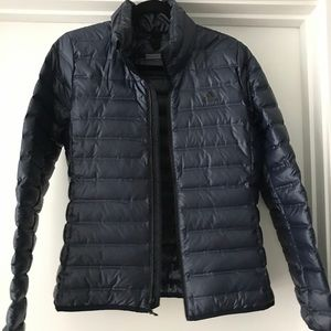 Adidas Navy Blue Layering Puffer Jacket Medium